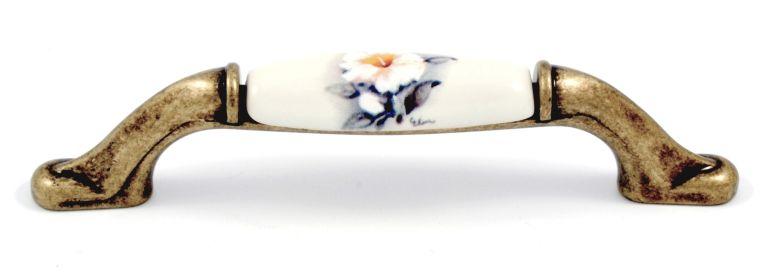 Maner portelan mobila M50 floare alba