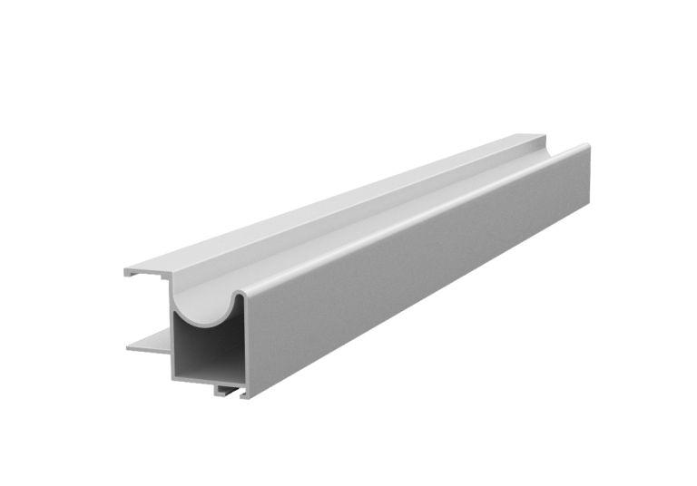 Profil vertical aluminiu  sistem usi glisante Galex 2500mm