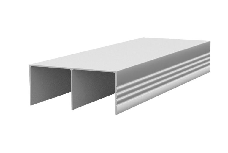 Sina superioara sistem usi glisante Galex 3000mm aluminiu