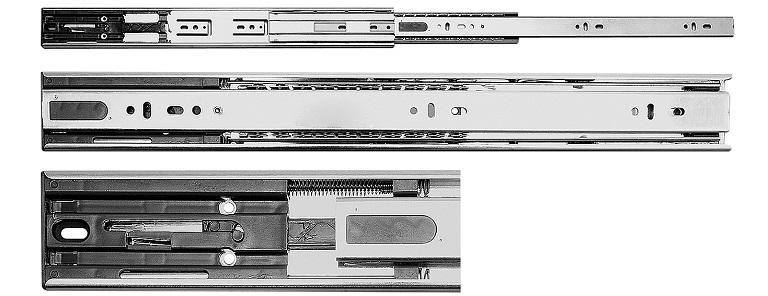 Glisiera cu bile GTV inchidere amortizata 250mm -30kg
